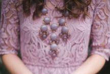 Purple Weddings / Lavender, Lilac, Eggplant, Plum wedding ideas with bridesmaid dresses, accessories, flowers, cakes, and decor. Purple wedding inspiration everywhere!