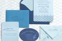 Blue Wedding Ideas / Blue wedding inspiration. Blue wedding color schemes and details in blue done beautifully to inspire your blue wedding theme or party. Blue bridesmaid dresses, decor and invitation ideas and more!