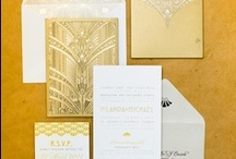 Gold Wedding Ideas / Golden wedding inspiration for gold themed weddings and parties.