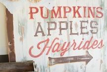 Fall and ThanksGiving Ideas / Everything Fall + Thanksgiving ideas, from delicious recipes to DIY projects. Let's get inspired. / by Kami / NoBiggie