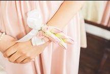 Blush Wedding Ideas / Blush pink wedding ideas and inspiration. Pretty pale pink flowers, blush wedding decor and blush pink dresses and attire.