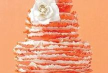 Orange Wedding Ideas / Ideas and color inspiration for orange themed weddings and parties. / by Dress for the Wedding