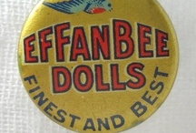 Effanbee Dolls #1 / Beloved Patsy is the favorite!  She was designed by Bernard Lipfert and made for Effanbee from 1928-1930's.  I have done my best in trying to identify the dolls.  I prefer to pin all original, unrestored  dolls, in original outfits.  For more, check out Effanbee Dolls #2.  Hope you enjoy them all! / by Nicole Souders
