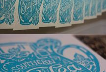 Cut & Print / Wood cuts, lino cuts etc.