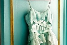 Mint Wedding Ideas / Mint dresses, accessories, cakes and favors for a mint color scheme or mint themed wedding.