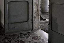 tegels en vloeren - tiles and floors / by Silvia Rosier