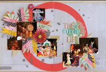 Two Page Scrapbook Layouts