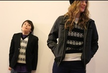 kidswear Winter / Inspiration for colours, textures and fit of We Are Rushworth kids winter woolies