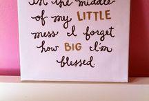 Big/Little / by Annastasia Burlos