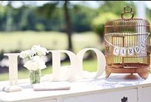 Rustic Charm at The Signature / Wedding Planning: Style Events MUA: Kim Wadsworth for BridesMade Venue: The Signature at West Neck Photography: Marie Violet Photography / by Style Events