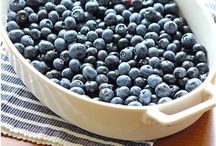 DESSERTS - BLUEBERRIES