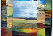 art to inspire new art quilts / I'm looking at a new direction for my art quilts / by Susan Kamps