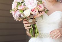 Our Wedding! / DIY Rustic Miramichi, NB Wedding. Colors: coral, peach, mint, gold, grey, pink. Photo cred: Hillary McCormack Photography.