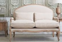 French Furniture and Interiors / The perfect French collection to bring a new level sophistication to every room in your home.