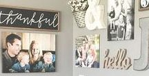 Organize: Home Decor Ideas / We recently remodeled our home and I kept ideas in this folder.