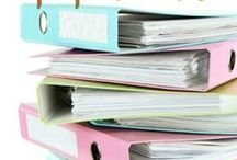 Organize: Paper / 80% of people face challenges when trying to keep paper organized. This board includes ideas on how to organize paper, how long you need to keep paper, how to create systems to process paper and more.