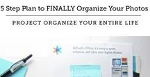 Organize: Photos / Organizing the photos, printed and digital, is an area most people avoid. This board focuses on ways to get and keep your photos organized.
