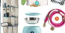 Organize: Pets / Organize your pet supplies with these fun, functional ideas.