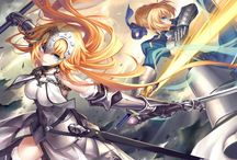 Fate/Girls / The clash of swords and beautiful girls.