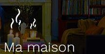 Ma Maison Cocooning / La sensation de bien-être est très liée à l'ambiance de la maison. Pour profiter au mieux de votre intérieur, chaque pièce doit avoir un but unique : le bureau dédié au travail avec un mobilier moderne et adapté, la salle de bain où règne le bien-être avec une chaleur douce et une déco naturelle, la chambre aménagée sous forme de cocon lumineux et aéré pour lire ou se reposer en toute détente… Trouvez les conseils pour transformer votre maison en bulle de douceur !