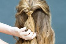 Hair / Easy styles for medium to long hair.