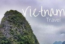 Vietnam Travel / Collecting all the beautiful pictures and articles on places to visit in Vietnam. Guides and Itineraries for travel to parts of Vietnam such as Hanoi, Hoi An, Ha Long Bay, Ho Chi Minh City. Including must see attractions and things to do like visiting the Cu Chi Tunnels, cruising Ha Long Bay,  and The French Quarter in Hanoi.  Our blog article on visiting Vietnam: http://togetherinthailand.com/vietnam-trip-nutshell/