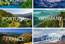 Europe Travel / Europe destinations and things to do. Some itineraries for places to visit as well as bucket list must see places.