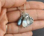 Artisan Silver pendants / Handmade nature inspired silver pendants.