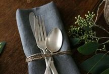 For the Table / by Cincia Bigia