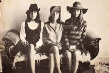 Vintage Image / Yesteryear. Days of yore. Pictures that aren't from now. Women looking awesome and inspiring.