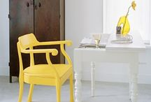 BRIGHT YELLOW DECOR / by PANYL