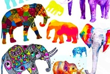 ELEpHANTS!! / Elephants atract Prosperity!!! $$$$$ / by Maria Eugenia Muñoz