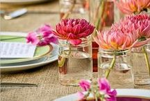 Garden Party Wedding Inspiration / A garden party works for so many things! Tea, showers, luncheons, or just because! Enjoy these images...