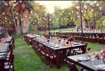 Tables to dine at / lovely tables to inspire you. Your guests spend a lot of time at their table, make it pretty!