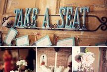 Vintage Wedding Inspiration / You really can DIY these projects! And if you can't, but want to, visit me at www.yoursandiegoweddingplanner.com and let me do it for you!