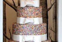 Wedding Cake Inspiration / Cake bakers/decorators are truly talented artists!