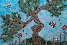 Mosaics Made By Dionne / Bespoke mosaic art - Wall murals - Interior Design - Garden Design - Greeting Cards www.qemamumosaics.co.uk