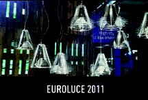 """Euroluce 2011 / For Salone del Mobile 2011 Slamp presented at Euroluce the new lamps, made with """"Lentiflex®"""", a magic material that reinvents lamps, endowing them with the rare qualities of an ice crystal:  precious, iridescent and hypnotic."""