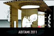 AbitaMi 2011 / Within Abitami Slamp has proposed an unexpected performance / exhibition where nature and technology are merged together to create a new way of home living.