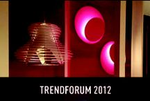 """TrendForum 2012 - Light+Building / From the 15th to the 20th of April 2012, during the Light + Building in Frankfurt, a special project entitled """"trend forum"""" was the main protagonist : a space in which trends from Home Design of 2012/13 have been put forward by the reconstruction of home sceneries."""