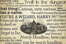 You're a Wizard Harry / by Carla Hayes