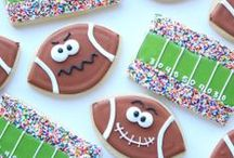 Best Game Day Recipes / Get your game day party on with killer food, drinks, decorations, and all kind of football inspired goods!