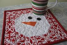 Sewing:  Holiday Items / I have other sewing boards as well.