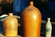 Antique Crocks, Jugs and Stoneware / by Tyne Armor