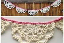 Crochet: GARLANDS & BUNTINGS / I ONLY POST FREE PATTERNS.