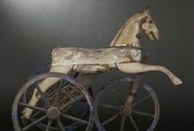 Antique Rocking, Hobby, & Wooden Horses / by Tyne Armor