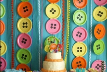 Buttons and Bows / Mother Daughter Banquet Ideas & Decor