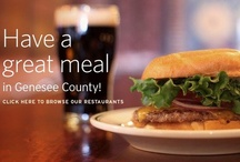 Where To Eat in Genesee County, NY / If you relish a variety of cuisine, you've come to the right place! From cozy country diners to romantic tables for two, delicious is the name of the game in Genesee County. In fact, there are over 60 restaurants in Batavia alone! Steaks, pasta, pancakes or pizza—they're all here—whether you're in the mood for a meal on-the-go, or one you'll want to linger over, your table is ready.