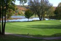 Golf in Genesee County / If you love challenging golf courses and scenic fairways, you're going to love Genesee County. With a variety of 9, 18 and 27-hole courses, country clubs, and driving ranges, we're an affordable destination for golfers of all skill levels. Looking for an extended golf getaway? Our convenient location near the NYS Thruway, first-class lodging, and dining make us the perfect destination for every kind of golfer!