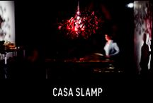 Casa Slamp / Experimentation is the keyword to Slamp culture. In a workshop with Nigel Coates, 10 members of the Creative Team created furniture and furnishings where to place our lamps.